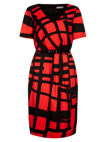 Coral Graphic Print Dress now £69.00 click to visit Planet
