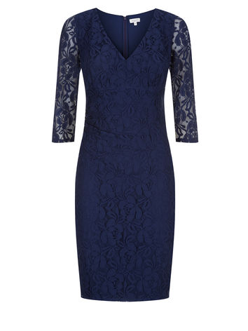 Navy Lace Shift Dress now £79.20 click to visit Kaliko