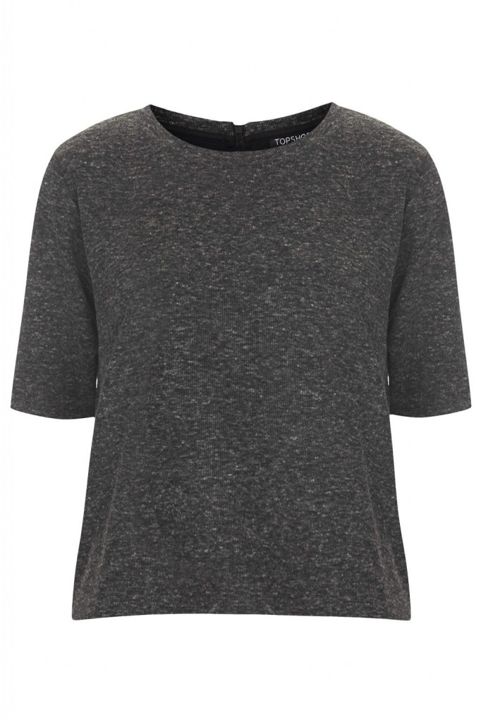 Zip Back Tee     Price: £18.00 click to visit Topshop