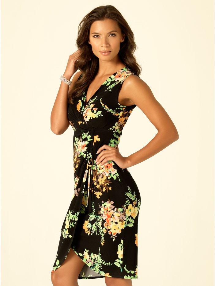 Floral print wrap dress £39 click to visit M&Co