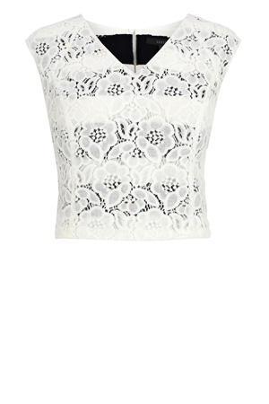 MILLAS LACE TOP £45.00 click to visit Coast