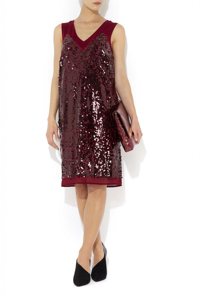 Berry Sequin Detail Dress     Price: £75.00 click to visit Wallis