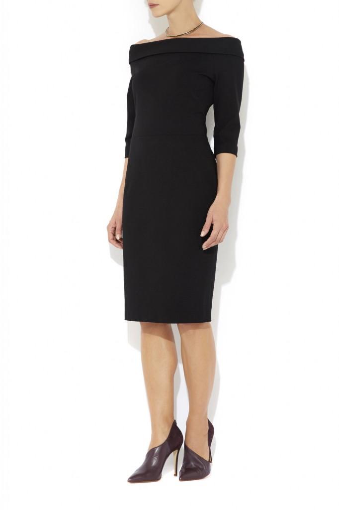 Black Off The Shoulder Dress     Price: £65.00 click to visit Wallis
