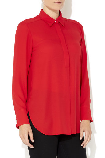 Red Long Sleeve Shirt     Was £30.00     Now £24.00 click to visit Wallis