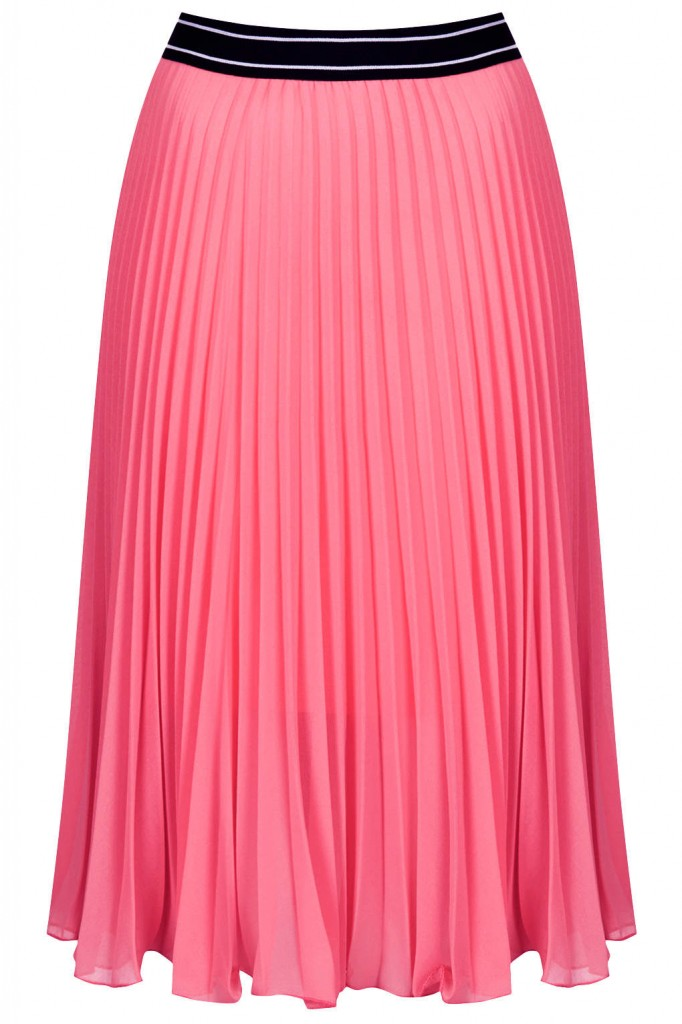 Sports Waistband Pleat Midi     Price: £38.00 click to visit Topshop