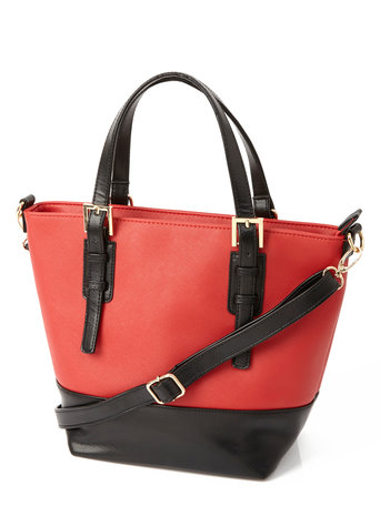 Red Colourblock Grab Bag     Price: £19.00 click to visit BHS