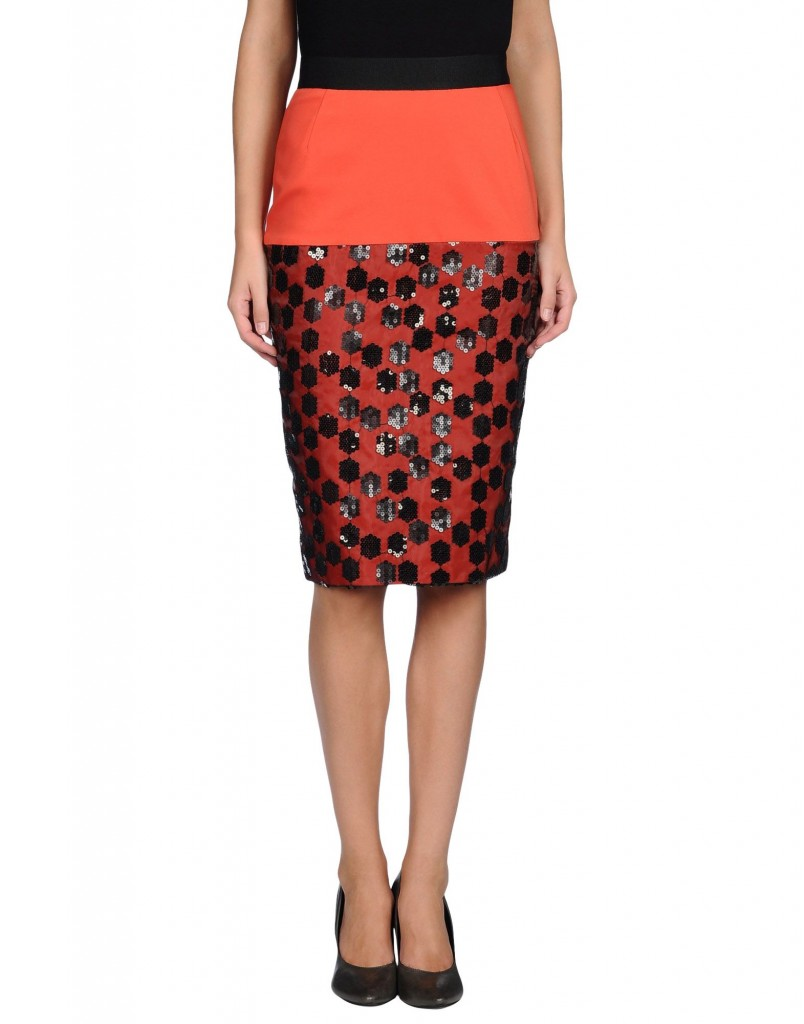 KOONHOR Knee length skirt £ 226.00 £ 79.00 click to visit Yoox