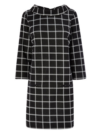 Checked Cowl Neck Tunic     Price: £30.00 click to visit BHS