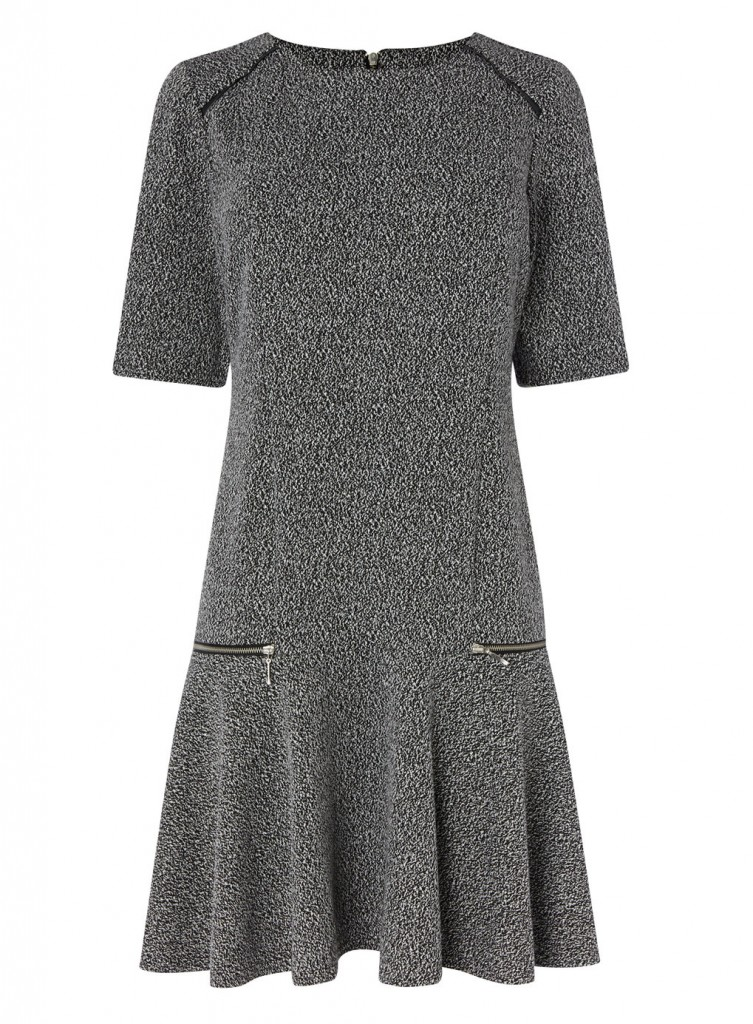 Textured Drop Waist Dress     Price: £30.00 click to visit BHS