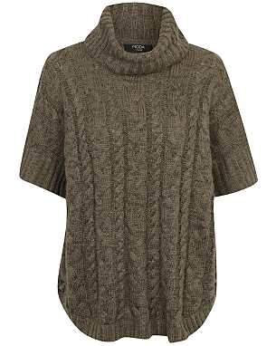 Moda Cable Knit Jumper £18.00 click to visit Asda George