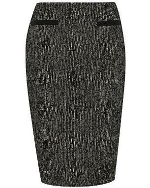 Textured Pencil Skirt £14.00 click to visit Asda George