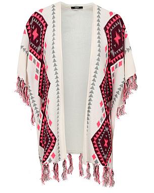Aztec Blanket Wrap Cardigan £18.00 click to visit Asda George