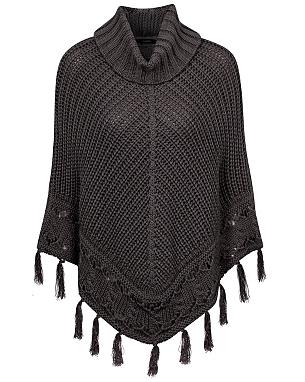 Crochet Trim Poncho £18.00 click to visit Asda George
