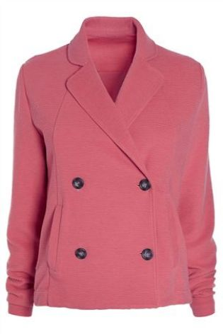Textured Jersey Double Breasted Blazer £50 click to visit Next
