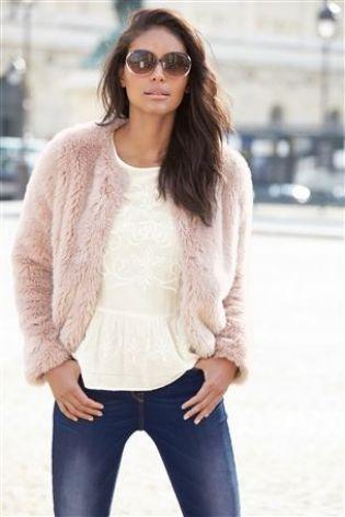 Faux Fur Jacket £48 click to visit Next
