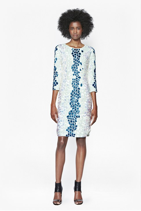 Caiman Sequinned Dress £250.00 click to visit French Connection