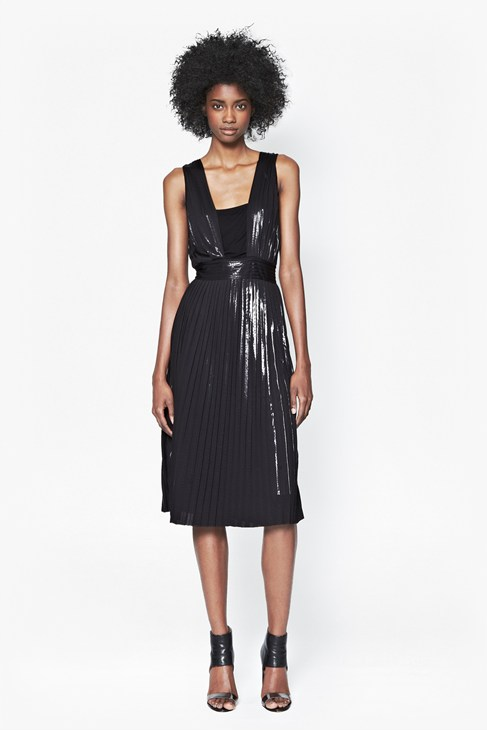 Foil Pleated Dress £120.00 click to visit French Connection