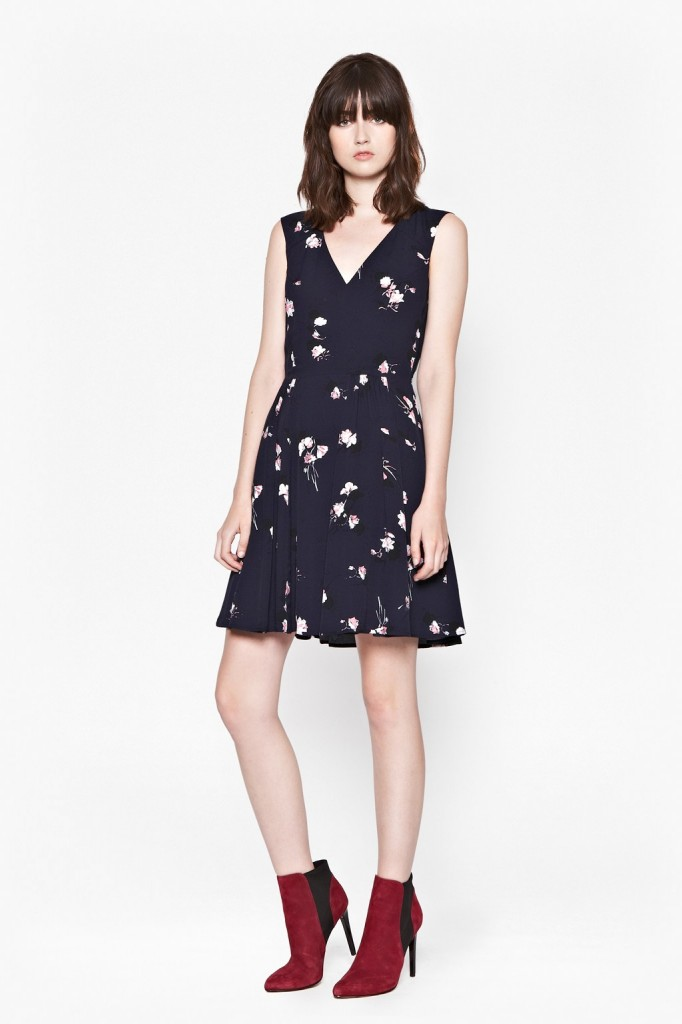 Romonov Posey Crepe Dress £120.00 click to visit French Connection
