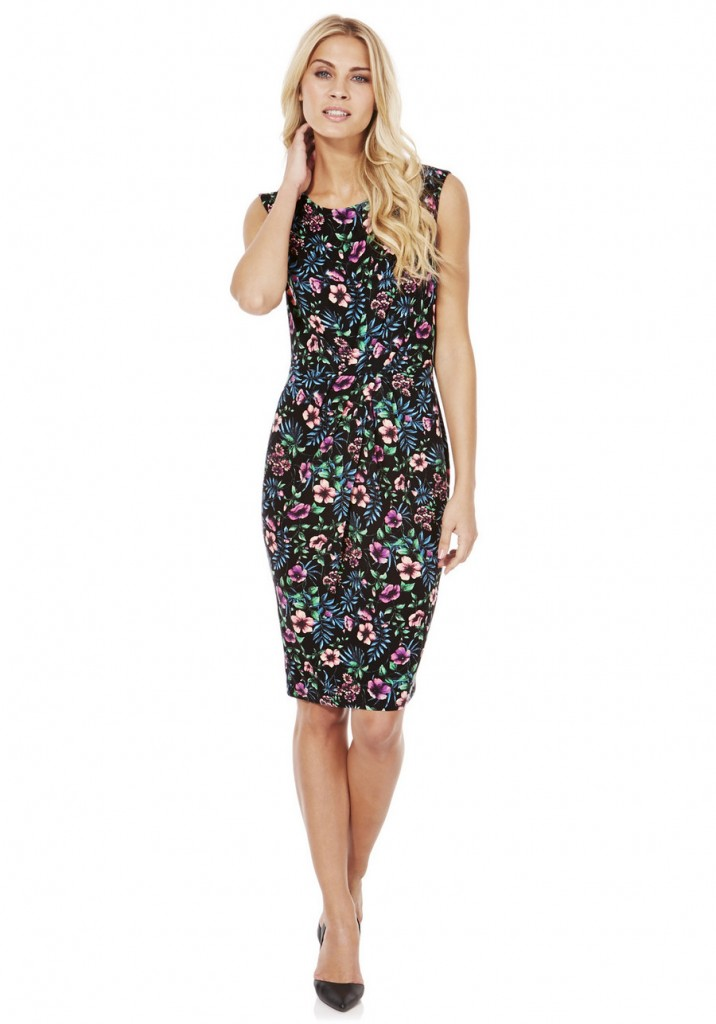 F&F Tropical Print Knot Front Dress  £8.00  click to visit F&F