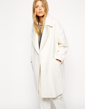 ASOS Slouchy Coat in Texture £75.00 click to visit ASOS