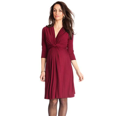 Séraphine Jolene Maternity Dress, Claret £49 click to visit John Lewis