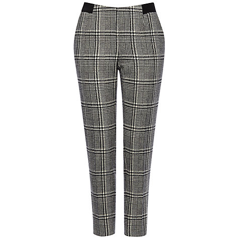Jaeger Wool Abstract Trousers, Black / White £199 click to visit John Lewis