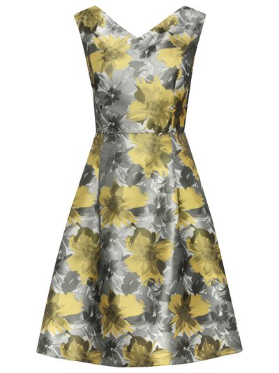 Floral jacquard prom dress £79 click to visit M&Co