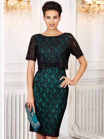 Lace double layer dress coming soon click to visit M&Co