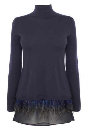 AGNES FEATHER TOP £75.00 click to visit Coast