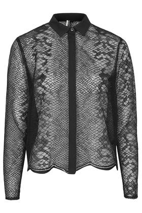 Snake Lace Shirt     Price: £48.00 click to visit Topshop