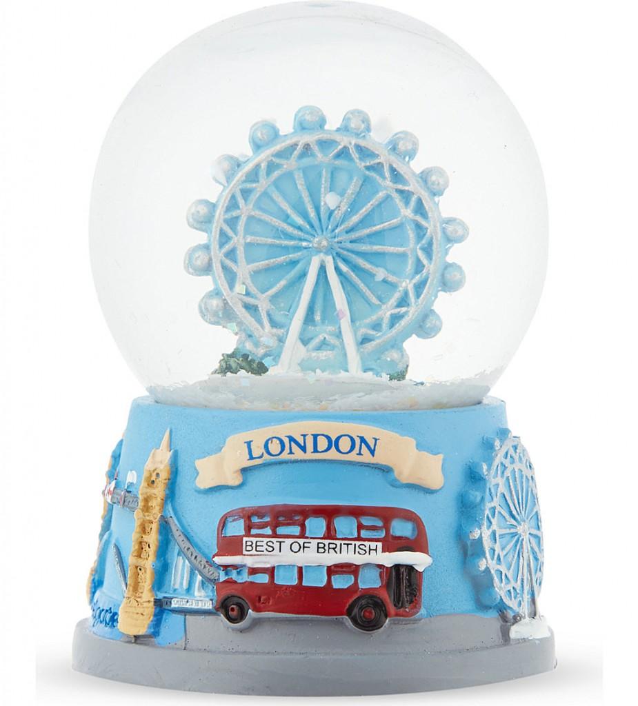ELGATE London Eye Christmas collage-base snow globe 4.5cm £5.95 click to visit Selfridges
