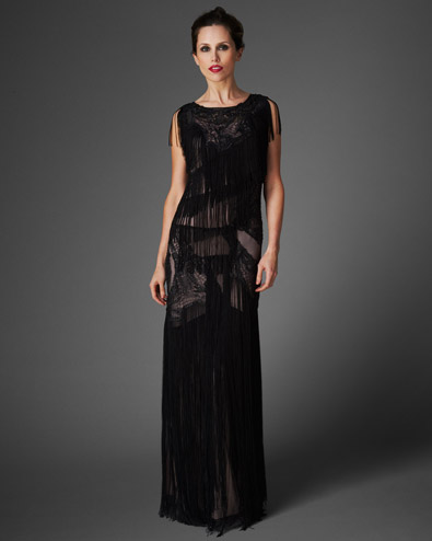 Tallulah Fringed Full Length Dress £275.00 click to visit Phase Eight