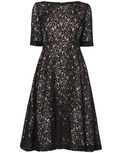 Louanna Lace Dress £150.00 click to visit Phase Eight