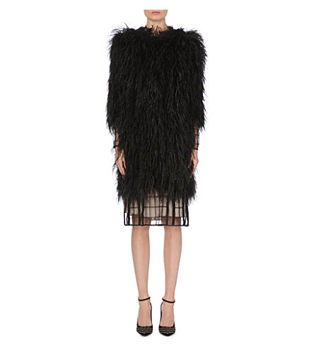 TEMPERLEY LONDON Feather coat      £1,495.00 click to visit Selfridges