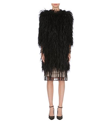 TEMPERLEY LONDON Feather coat      £1,495.00 click to visit Selfridges