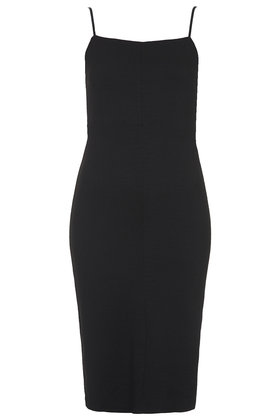 Square Neck Midi Bodycon Dress     Price: £32.00 click to visit Topshop