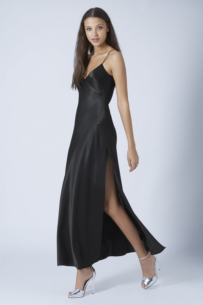Satin Maxi Dress     Price: £55.00 click to visit Topshop