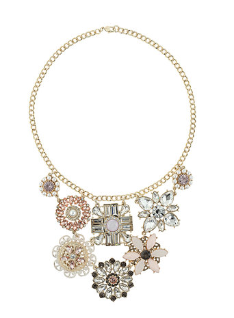 Millie Multi Flower Necklace     Price: £20.00 click to visit Dorothy Perkins