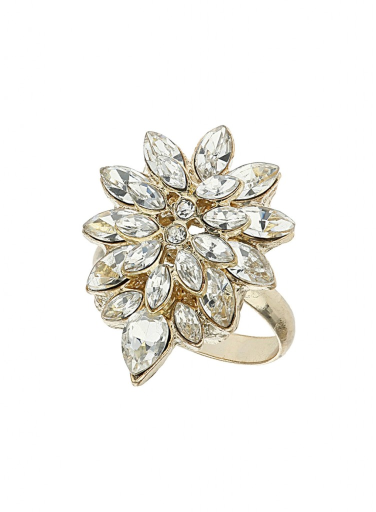 Millie Petal Stone Ring     Price: £10.00 click to visit Dorothy Perkins
