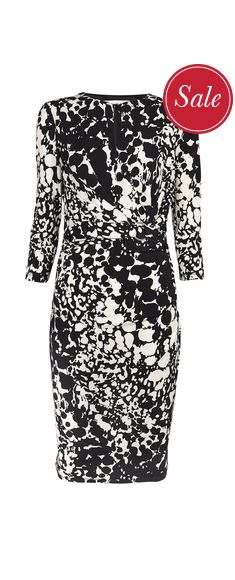 Nicole Keyhole Dress £45.50 click to visit TM Lewin