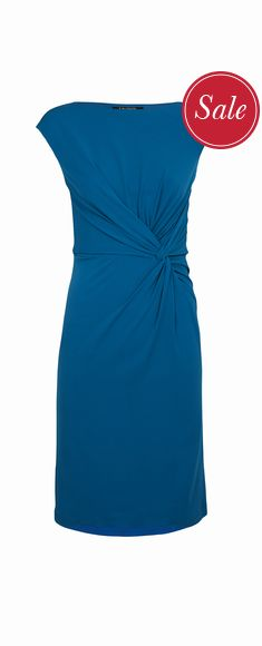 Millie Knot Dress now £42 click to visit TM Lewin