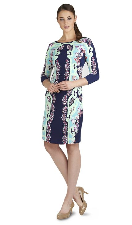 Karlie Paisley Placement Dress £30 click to visit TM Lewin