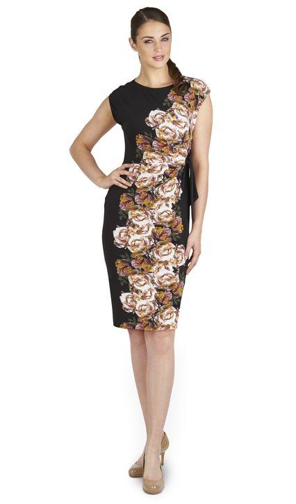 Maya Placement Print Dress £45.50 click to visit TM Lewin