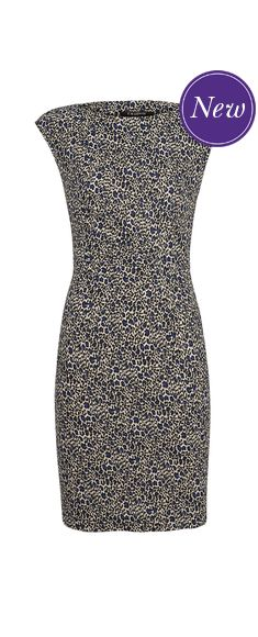 Stella Ruche Dress now £42.50 click to visit TM Lewin