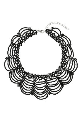 Beaded Drape Choker     Price: £16.50 click to visit Topshop