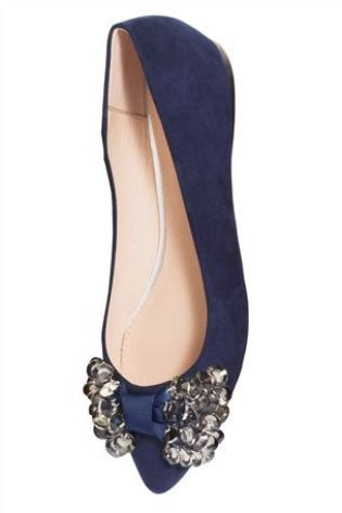 Jewelled Bow Shoes £30 click to visit Next