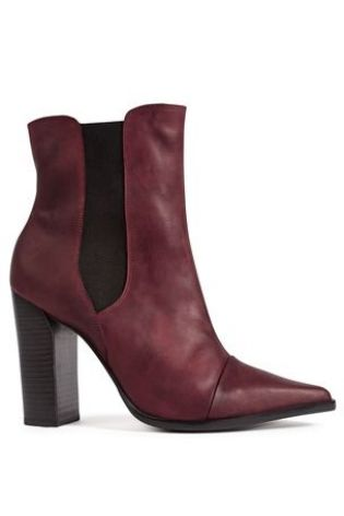Chelsea Block Point Boots £85 click to visit Next