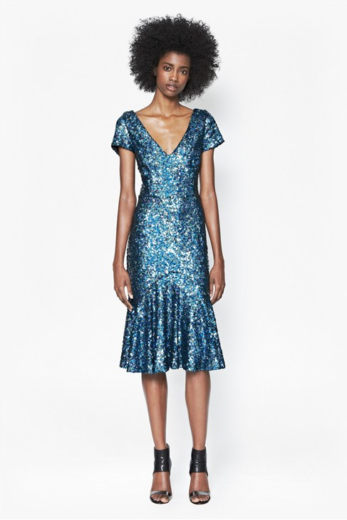 Sirius Sequinned Dress £175.00 click to visit French Connection