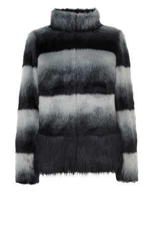 BRONX FAUX FUR COAT WITH PROMO £136.50 click to visit Coast