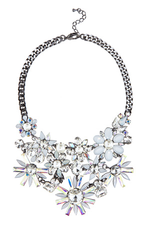 EVE FLORAL NECKLACE WITH PROMO £31.50 click to visit Coast